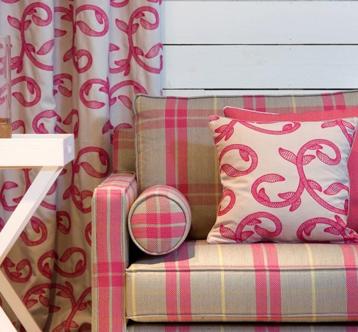 Lookbook Coleção de tecidos para decoração Summertime - Padrão Formal